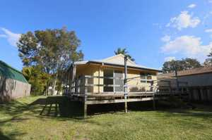 Enjoy living at Emerald Beach and make the most of the beach lifestyle in this 3 bedroom home. An open plan living, dining and kitchen leads out to a north facing deck overlooking a bush backdrop. Tiled floors to all living areas, built-ins and fans to all bedrooms. 900m approximately ...