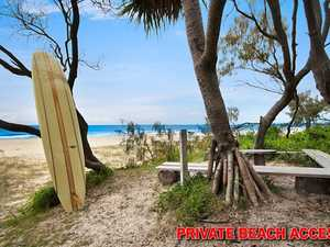 Beachfront Home With Private Bush Surrounds