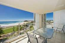 * Modern NE facing aspect that takes in world class Ocean Views from Rainbow Bay to Stradbroke Island *  Refurbished 10th floor apartment with wall mounted Plasma TV's in every room to contemporary style furniture throughout * A fine selection of local restaurants just minutes walk from your front door or the ...