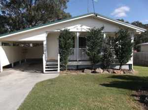 Just listed....a very comfortable hardiplank home on steel piers, kitchen with a brand new bench top hotplate & wall oven, breakfast bar, dining area, lounge with a reverse cycle air-con, bathroom, laundry and a front patio. The property is fenced and is only a short walk to the creek parkland ...