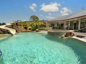 Live the dream Dual residences on 15 flat acres with spectacular views of Mt Coolum