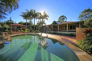 Located in the sought after 'Forest Glen Estate' of Moonee Beach is this well-established family home.  Situated on a generous, level allotment sprawling over 6000m2 this home is designed to cater for the modern day family.  The home offers four generous bedrooms, the main with an en-suite and open plan ...