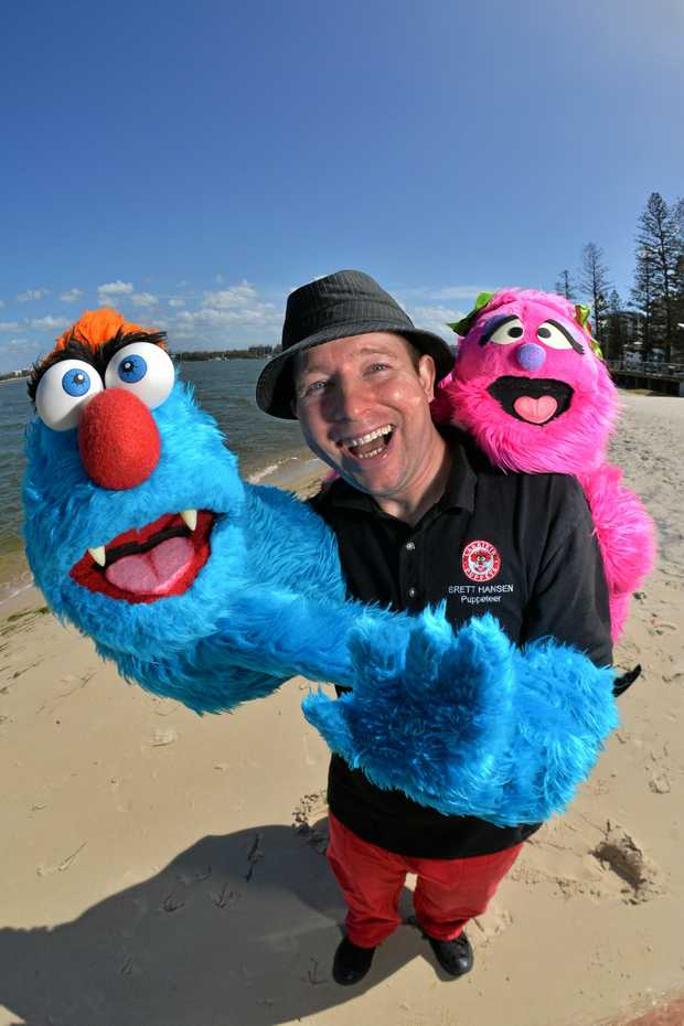 TEACHING KINDESS: Puppeteer Brett Hansen hopes to centre his performance around kindness and inclusion towards kids on the autism spectrum.