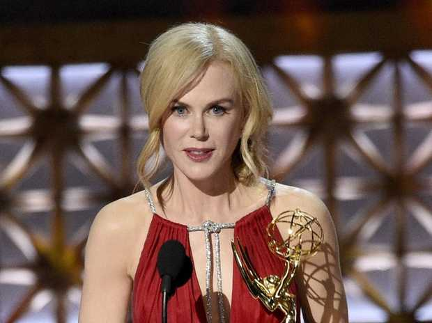 Nicole Kidman Accepts The Award For Outstanding Lead Actress In A Limited Series Or Movie