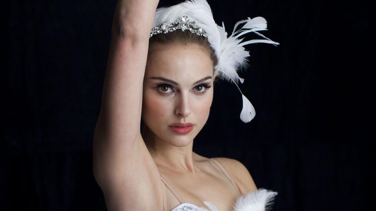 Натали Портман Лебедь