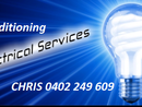 CV Electrical license 75692  All jobs big and small  House makeover specialist  Air conditioners  Electric roller shutters  Power points  Lights / fans  Ovens/ hot plates  Switchboard Upgrades  Safety switches  Telephone  Television  data  EMAIL TODAY FOR SAME DAY QUOTE