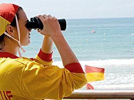 Bondi lifeguard has birds-eye view