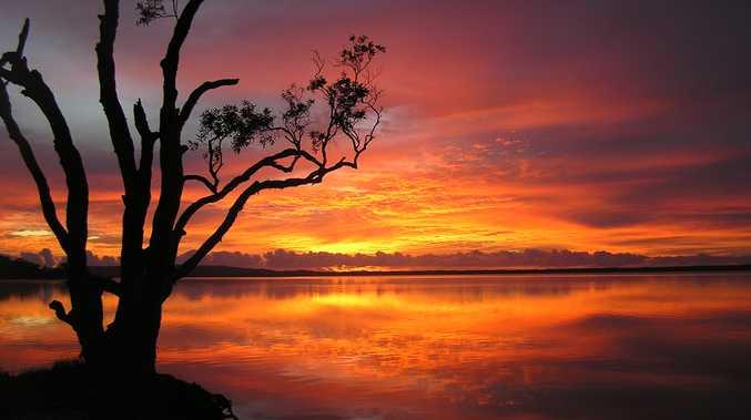 Sunrise at Boreen Point.