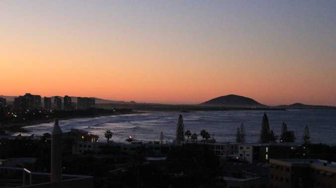 Sunset over Mount Coolum - User Contributed