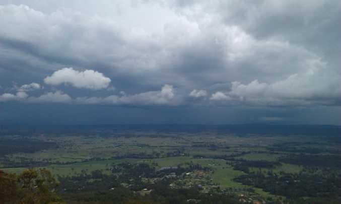 The stunning views from Mt Tamborine