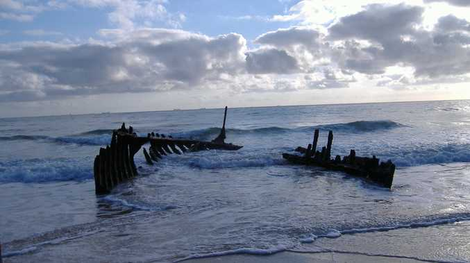 SS Dicky wreck.