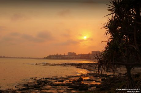 Sunset Over Kings Beach ,Caloundra, QLD - User Contributed