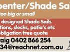Carpenter/Shade Sails