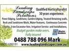 LEADING LANDSCAPE SOLUTIONS