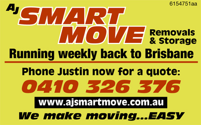 Running weekly back to Brisbane