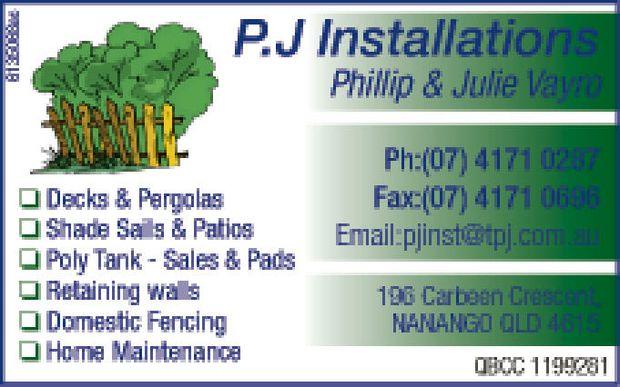 Phillip & Julie Vayro    Decks & Pergolas  Shade Sails & Patios  Pol...