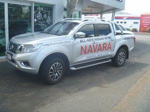 2015 Nissan Navara NP300 D23 ST-X (4x4) Brilliant Silver 7 Speed Automatic Dual Cab Utility