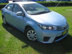 2014 Toyota Corolla ZRE172R Ascent Blue 7 Speed CVT Auto Sequential Sedan