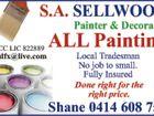SHANE SELLWOOD PAINTING & DECORATING