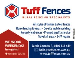 All styles of timber & steel fences
