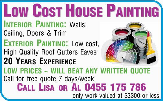 Interior Painting: Walls, Ceiling, Doors & Trim   Exterior Painting:...