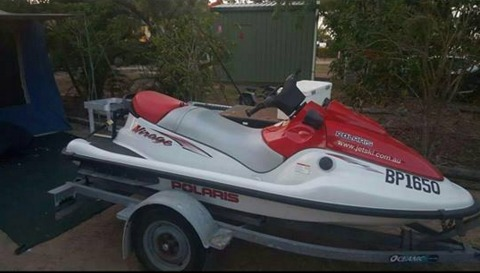 2002, 3 seater with trailer