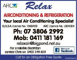 Your local Air Conditioning Specialist