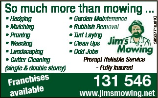 Franchises Available  Garden Maintenance  Rubbish Removal  Turf Laying  C...