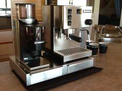 This Italian domestic coffee machine is  built from commercial grade components  and produces full-b...