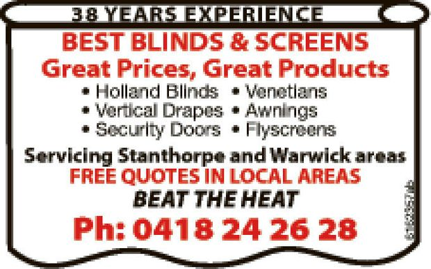 38 YEARS EXPERIENCE