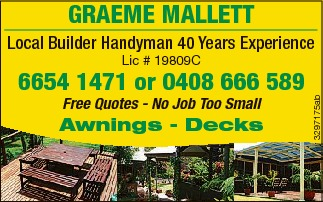 GRAEME & ANDREW MALLETT