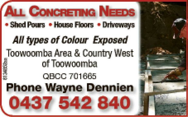 Shed Pours