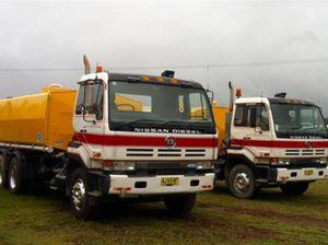 Water truck ~ 1994 UD NISSAN Water Tanker