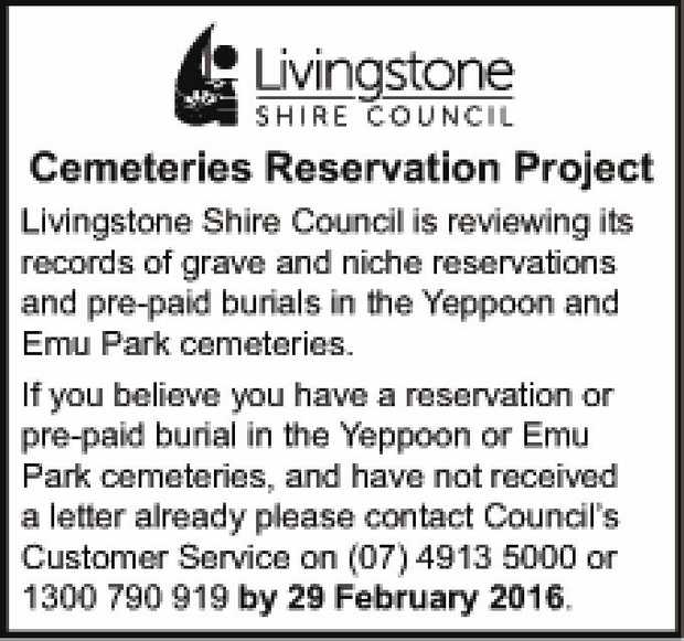 Cemeteries Reservation Project