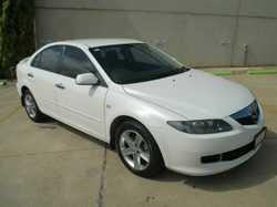 2007 Mazda 6 GG1032 MY07 Classic Sports White 5 Speed Sports Automatic Hatchback