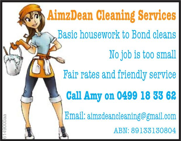 Basic House work to Bond Cleans
