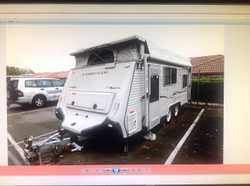 COROMAL 19ft immac cond, dble island bed, show/toilet, 3way fridg, air-con, roll out, full annex,TV,...