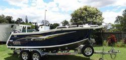TRAILCRAFT 510 Profish 2007, 5.1M, 90hp Suzuki 4 stroke, trailer, 120L fuel tank, kill & bait...