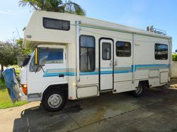 WINNEBAGO, t/diesel, man, d/bed, 2dr frig, s/panels, toil/show, tow/b/bar 6 new tyres, heaps stor...