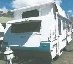 JAYCO Starcraft 16'    Double island. bed  Full gas stove  Near new 3 way...