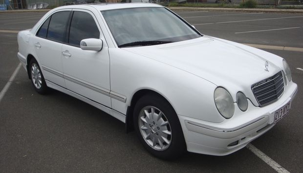 White Elegance W210 V6 petrol auto, service history up to date. Reliable safe good looking. Rego...