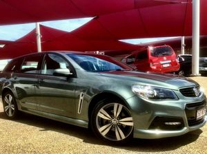 2014 Holden Commodore VF SV6 Grey 6 Speed Automatic Wagon