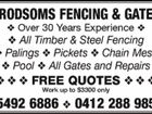 FRODSOMS FENCING AND GATES
