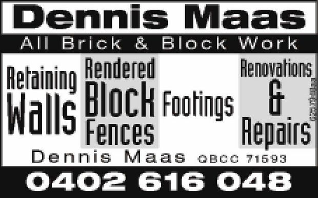 All Brick & Block Work