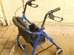basket, brakes, blue, max 120kg, no offers