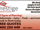 Prestige Fencing and Gates