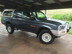 Mitsubishi Triton 4x4  4/99,  3.0L,  V6,  5speed,  dual cab,  L...