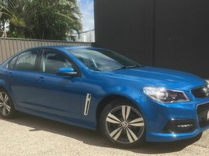 2013 Holden Commodore VF SV6 Blue 6 Speed Automatic Sedan