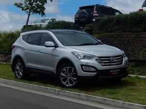 2012 Hyundai Santa Fe CM MY12 Highlander CRDi (4x4) Silver 6 Speed Automatic Wagon