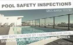 S POOL SAFETY INSPECTION QBCC licence 101793 ptusnet.com.au 608 321 l marksy13@o Gary Marks l 0414 d...